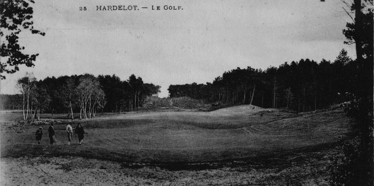 Hardelot old 18 backwards